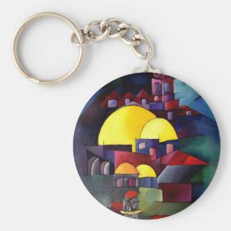 Claudia Ravel Basic Round Button Key Ring
