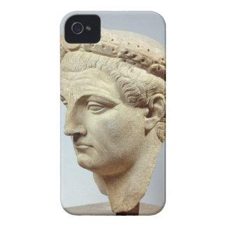 Claudius, marble head, 41-54 AD iPhone 4 Case-Mate Cases