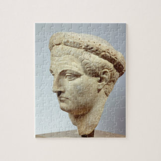 Claudius, marble head, 41-54 AD Jigsaw Puzzle