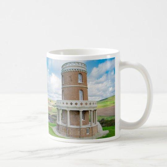 Clavell Tower Folly, Kimmeridge, Dorset, souvenir Coffee Mug