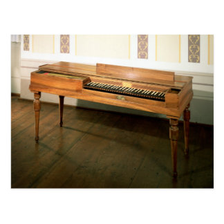 Clavichord, once owned by Franz Joseph Haydn Postcard