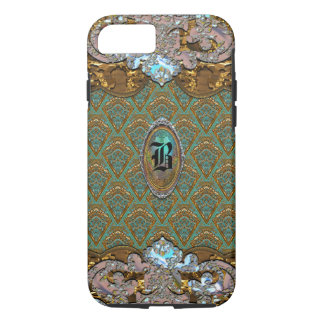 Clavichoria Baroque Girly Monogram 6/6s iPhone 7 Case