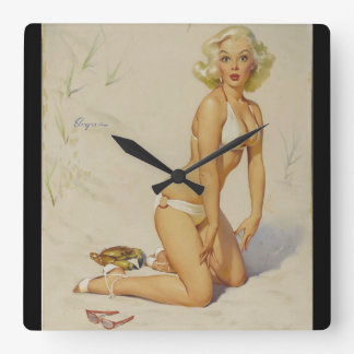 Claws for Alarm Pin Up Art Clock