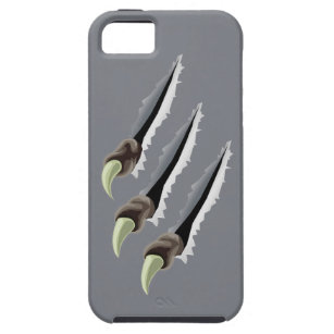 Claws through metal case for the iPhone 5