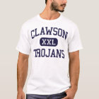 Clawson - Trojans - High School - Clawson Michigan T-Shirt