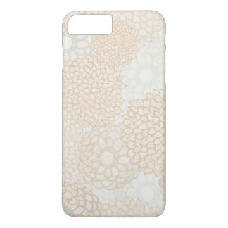 Clay and Tan Flower Burst Design iPhone 8 Plus/7 Plus Case