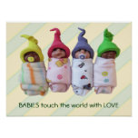 Clay Babies: Babies Touch The World With Love