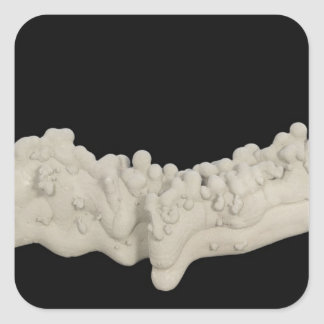 Clay Concretion Square Sticker