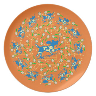 Clay Tone Dinner Plate