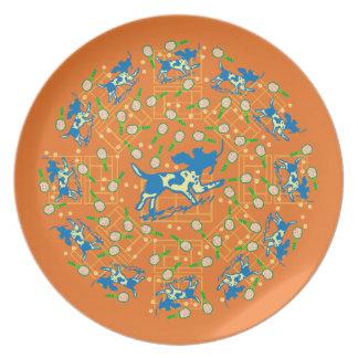 Clay Tone Plate
