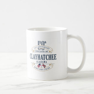 Clayhatchee, Alabama 50th Anniversary Mug