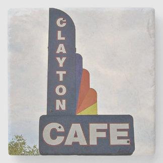 Clayton Cafe, Clayton, Georgia, Marble Coasters