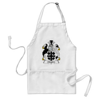 Clayton Family Crest Standard Apron