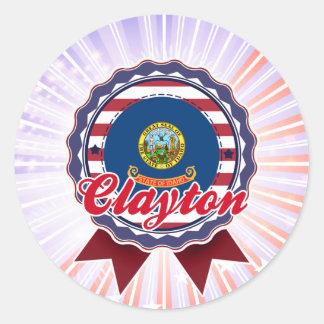 Clayton, ID Stickers