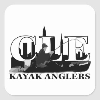 CLE Kayak Anglers Square Sticker