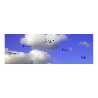 Clean Air - Air Filtiration II Pack Of Skinny Business Cards