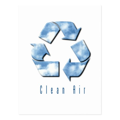 Clean Air Postcard