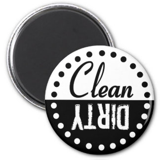 Clean and Dirty Dishwasher Magnet