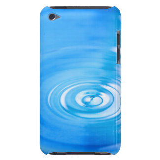 Clean blue water ripples iPod touch Case-Mate case