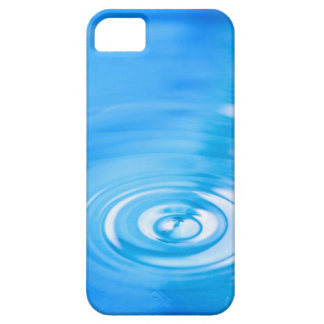 Clean blue water ripples iPhone 5 cover