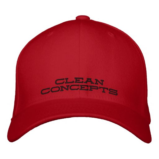 CLEAN CONCEPTS EMBROIDERED HAT