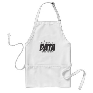 Clean Data is the Answer Standard Apron