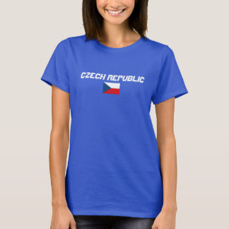 Clean Design Czech Republic Flag Shirt