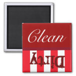clean dirty dish magnet