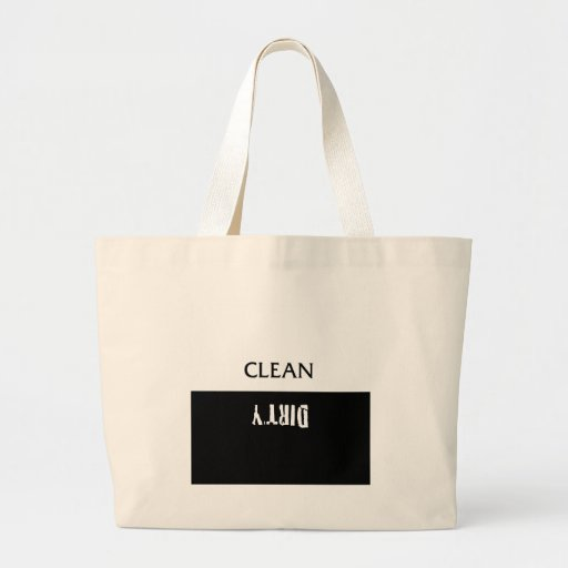 Clean Dirty Dishes Magnet Bag