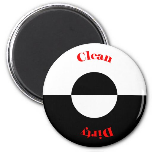 Clean - Dirty Dishwasher Magnet