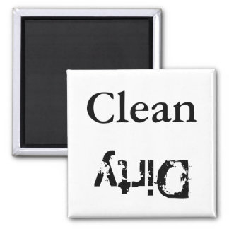 Clean, Dirty Dishwasher Magnet