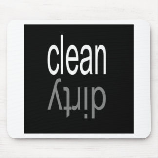 Clean Dirty Dishwasher Magnet Mousepads