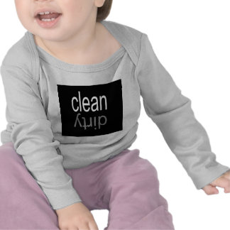 Clean Dirty Dishwasher Magnet Tee Shirts