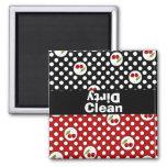 Clean & Dirty Fun Dishwasher Magnet
