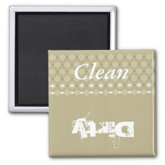 Clean-Dirty Kitchen Magnet