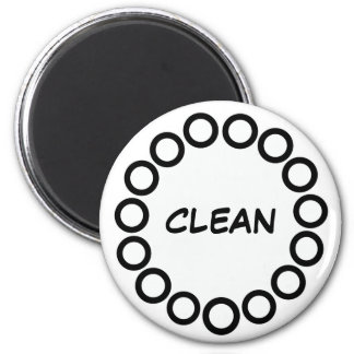 """CLEAN"" Dishwasher Magnet (""DIRTY""sold separately)"