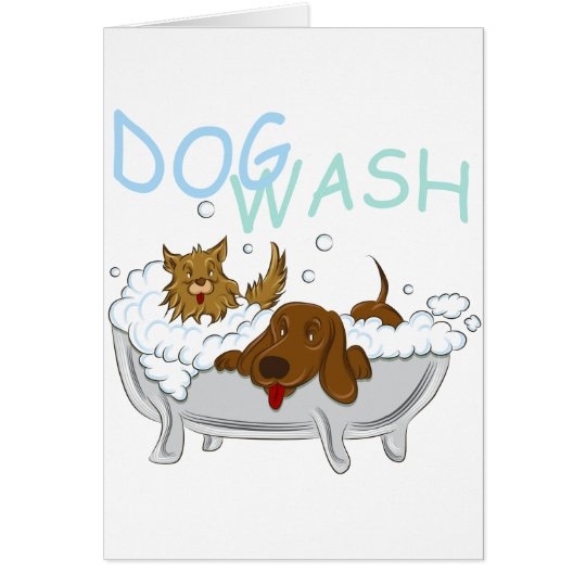Clean Dogs Wash Card