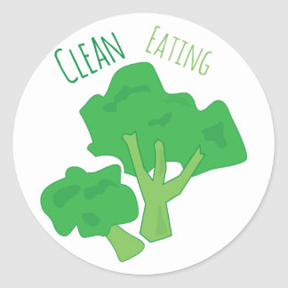 Clean Eating Sticker