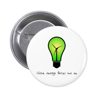 Clean Energy Bulb - Button