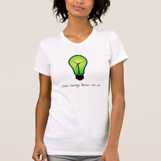 Clean Energy Bulb - Womens Shirt