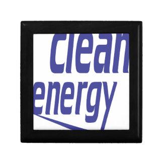 Clean energy gift box