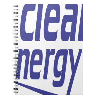 Clean energy notebooks