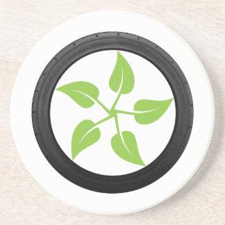 Clean Green Power Coaster