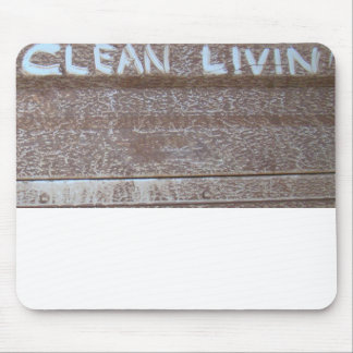 Clean Livin' 'Tailgate Talk' Mouse Pad