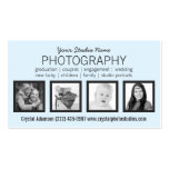 Clean Modern 4 Photos Any Profession Pack Of Standard Business Cards