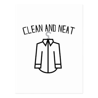 Clean & Neat Post Cards