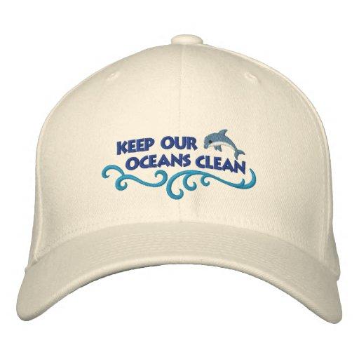Clean Oceans Baseball Cap