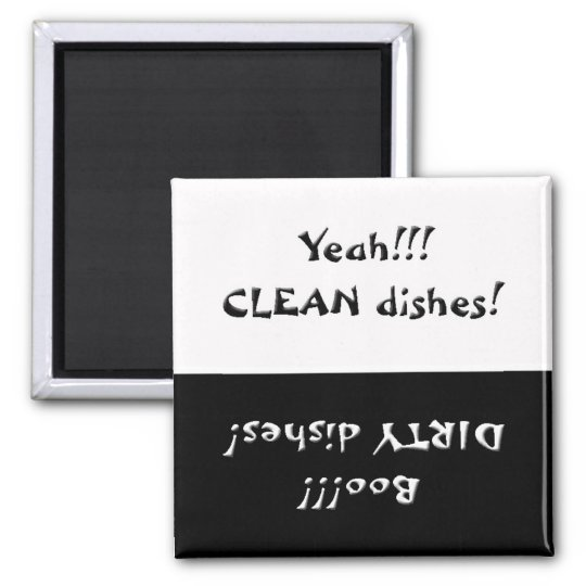 Clean Or Dirty Dishes Magnet
