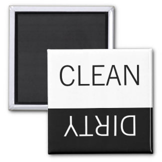 Clean or Dirty Magnets DIshwasher Label