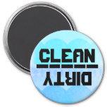 Clean or Dirty? v.3 Fridge Magnet